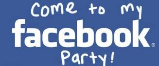 facebook party  sharon howat, Party invitations